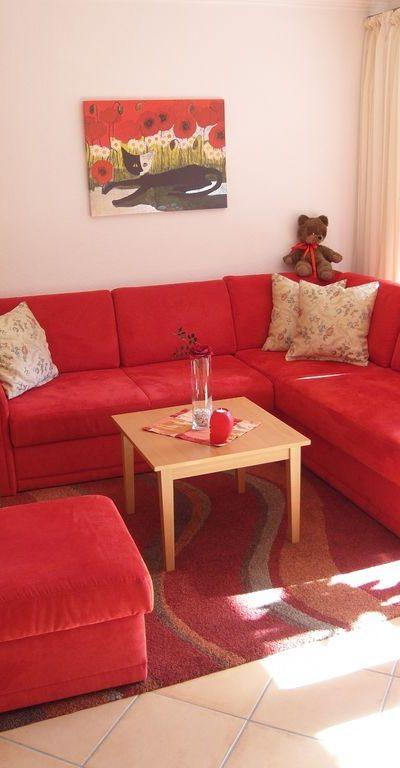 Bequem Couch mit ausziehbarer Schlaffl����¯�¿�½���¯���¿���½����¯�¿�½������¤che