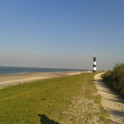 Der Leuchtturm kann am Wochenende besichtigt werden