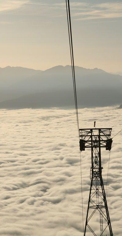 Nebel auf dem Nebelhorn